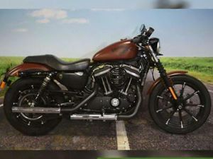 2017 HARLEY DAVIDSON, 883 IRON, ONE OWNER, ONLY 2732 MILES, VANCE & HINES