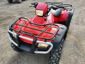HONDA 2011 TRX 500 FOREMAN 4X4 FARM QUAD BIKE ATV AGRI CAN BE ROAD REGISTERED