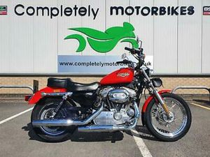 HARLEY-DAVDSON SPORTSTER XL883L LOW 2011 - ONLY 9247 MILES