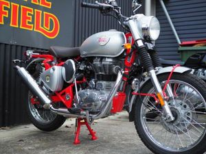 BRAND NEW ROYAL ENFIELD BULLET TRIALS