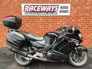 KAWASAKI GTR1400 2009 09 REG 36,287 MILES BLACK USED MOTORCYCLE 1352CC