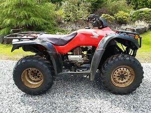 HONDA TRX 350 4X4 QUAD BIKE YEAR 2006