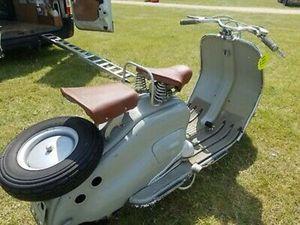 LAMBRETTA LD SERIES 1 IMPORT 125CC 1950S CLASSIC MOTORCYCLE