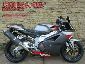 APRILIA RSV 1000 MILLE R, 2004 MODEL, 6251 MILES ONLY, FSH, IMMACULATE