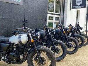 NEW 2021 MUTTS IN STOCK! ORDER YOURS NOW MONGREL, SABBATH,125CC RETRO MOTORCYCLE