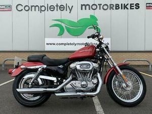 HARLEY DAVIDSON 883-LOW JUST 5783 MILES FROM NEW. A STUNNING EXAMPLE