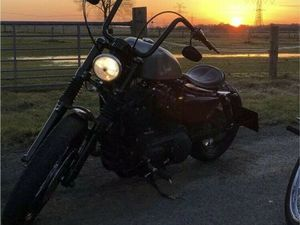 HARLEY DAVDISON SPORTSTER FORTY EIGHT 48 XL1200X