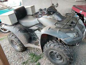 HONDA TRX RINCON 650 ATV 4X4 INKLUSIVE SCHNEESCHILD