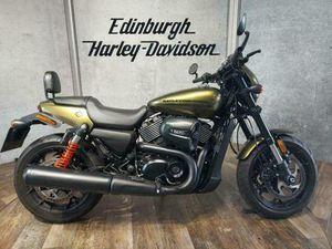 HARLEY-DAVIDSON STREET ROD XG750A .STUNNING IN OLIVE GOLD. ONLY 3329 MILES. | IN EDINBURGH