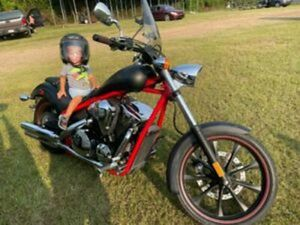 HONDA FURY 1300 ONLY 2,900 MILES LIKE NEW 2012 RED
