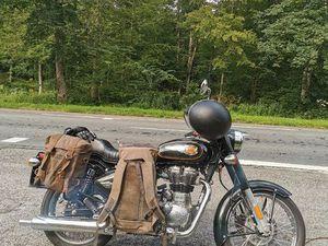 MOTO ROYAL ENFIELD BULLET 500 VERT ANGLAIS