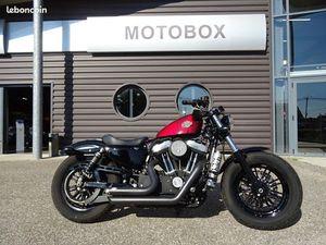 HARLEY-DAVIDSON XL 1200 SPORTSTER 48 FORTY-EIGHT + MOTOBOX