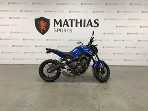 YAMAHA FZ-09 ABS 2016 USED MOTORCYCLE FOR SALE IN SAINT-MATHIAS-SUR-RICHELIEU