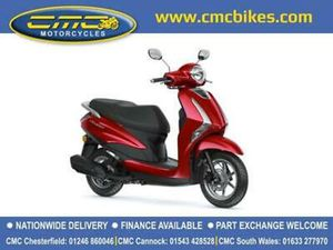 NEW 2021 YAMAHA DELIGHT 125CC SCOOTER LTS CMC MOTORCYCLES ON ROAD PRICE
