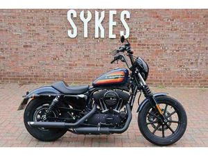 2020 HARLEY-DAVIDSON XL1200NS SPORTSTER IRON 1200 IN BILLIARD BLUE | IN LEWES, EAST SUSSEX
