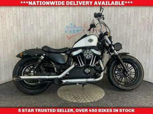 HARLEY-DAVIDSON SPORTSTER XL 1200 X FORTY EIGHT ABS GENUINE LOW MILEAGE 2018 18   IN LOW M
