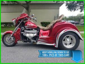 BOSS HOSS BHC-9 V8 TRIKE MOTORCYCLE HARLEY DAVIDSON POLARIS SLINGSHOT CAN-AM
