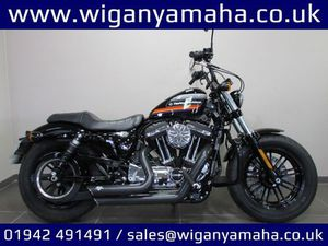 HARLEY-DAVIDSON SPORTSTER XL1200XS FORTY EIGHT SP, STAGE 1 VANCE AND HINES EXAUST, SCREAMI