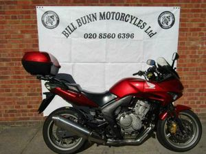 RED 2008 HONDA CBF600 SA ABS PERFECT FIRST BIG BIKE CHEAP TO RUN AND RELIABLE | IN EALING,