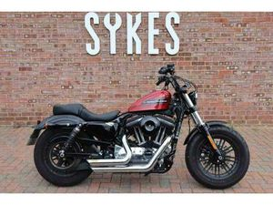 2019 HARLEY-DAVIDSON XL1200XS SPORTSTER FORTY-EIGHT IN WICKED RED | IN LEWES, EAST SUSSEX