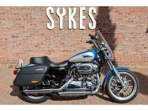 2018 HARLEY-DAVIDSON XL1200T SPORTSTER IN BLUE AND SILVER | IN LEWES, EAST SUSSEX | GUMTRE