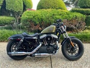 2016 HARLEY-DAVIDSON FORTY-EIGHT XL1200X 5452 MILES GREEN 0 MANUAL