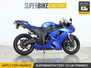 2009 58 KAWASAKI ZX-6R P8F - BUY ONLINE 24 HOURS A DAY   IN CASTLE DONINGTON, DERBYSHIRE  
