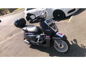 125CC PEUGEOT SCOOTER WITH TOP BOX | IN EAST KILBRIDE, GLASGOW | GUMTREE