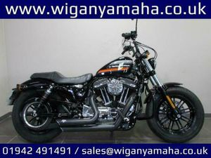 HARLEY DAVIDSON XL1200XS FORTY EIGHT SPECIAL, 18 REG 2384 MILES, VANCE AND HI...   IN WIGA