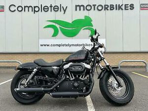HARLEY-DAVIDSON XL1200X FORTY-EIGHT - VANCE AND HINES EXHAUSTS - ONLY 5616 MIL