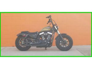 2016 HARLEY-DAVIDSON SPORTSTER FORTY-EIGHT USED