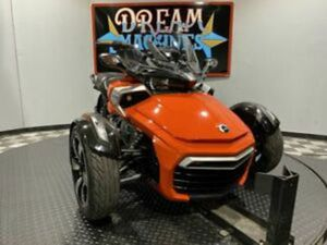DREAM MACHINES OF TEXAS 2015 CAN-AM SPYDER F3 S 6-SPEED MANUAL SM6 1366 MILES R