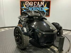 DREAM MACHINES OF TEXAS 2019 CAN-AM SPYDER F3 SE6 539 MILES BLACK