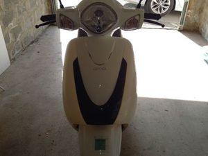 SCOOTER ORCAL KITE BLANC