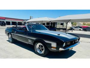 FORD MUSTANG CABRIOLET AUTOMATIQUE 1971