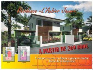 Maison à vendre Cayenne SECTEUR NON DEFINI 4 pièces 93 m2 Guyane (97300)