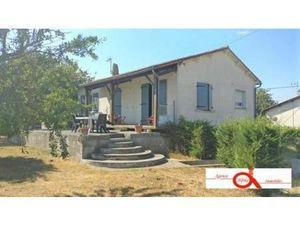 Maison à vendre Lageon 3 pièces 83 m2 Deux sevres (79200)