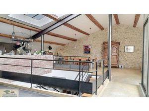 Vente maison (garage  terrasse  bureau  cheminée  cuisine ouverte  contemporain) Saussan