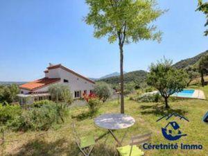 Maison à vendre Calmeilles CA©RET 6 pièces 206 m2 Pyrenees orientales (66400)