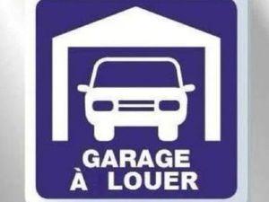 Loue garage sécurisé neuf