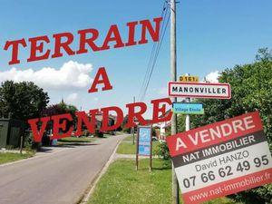 Acheter Terrain 530 m² MANONVILLER 54300 - fnaim.fr