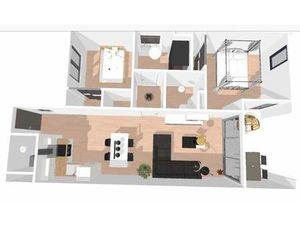appartement 3 pièces 66 m² Bordeaux (33800)