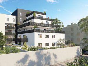Vente appartement 4 pièces (terrasse  duplex  verdoyant) Chambéry Laurier