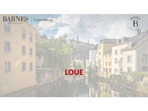 Appartement 3 chambres à Luxembourg-Belair