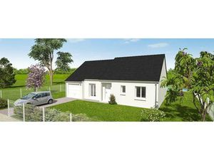 Vente maison (garage  plain-pied  cuisine équipée  terrains constructible) Aschères le Mar