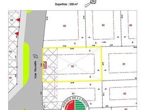 Vente terrain 339 m2