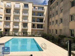 Location appartement 2 pièces meublé (piscine  parking  balcon  plein sud  meublé) Bordeau