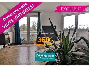 Vente appartement 4 pièces (au calme  duplex  balcon  rangement  sans travaux) Nantes Chan