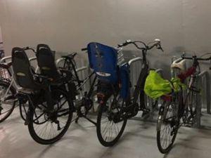 Stationnement vélo sécurisé 200m de la mairie