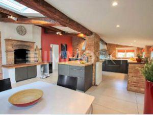 A vendre à BALMA (31130)  sur une PARCELLE d'environ 2600 m²  magnifique maison TOULOUSAIN